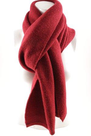 Darling Harbour Strickschal rot klassischer Stil