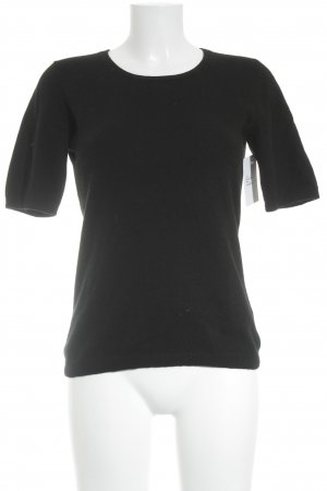 Darling Harbour Strickshirt schwarz klassischer Stil