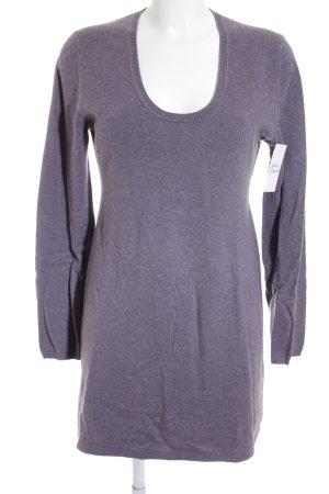 Darling Harbour V-Ausschnitt-Pullover grauviolett Casual-Look