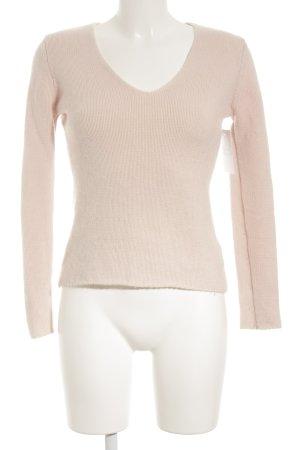 Darling Harbour V-Ausschnitt-Pullover rosé-hellrosa Casual-Look