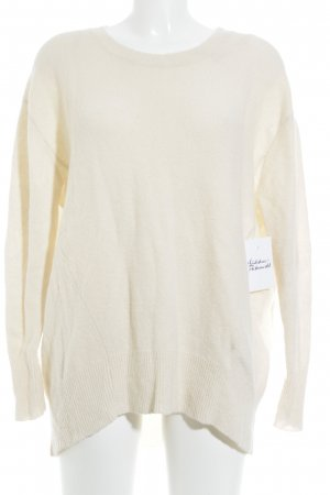 Darling Harbour Wollpullover creme Casual-Look