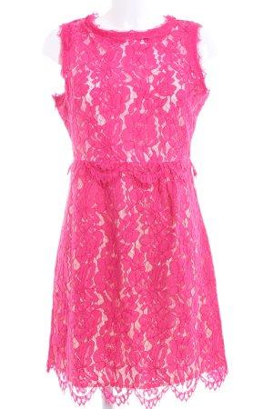 Darling Abito in pizzo rosa elegante