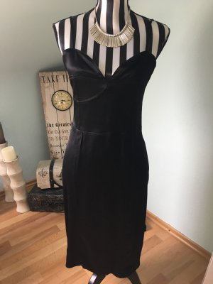 H&M Robe bustier noir