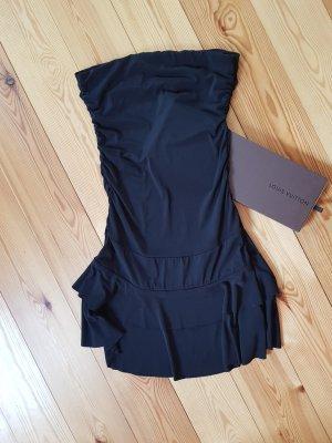 100% Fashion Abito a fascia nero