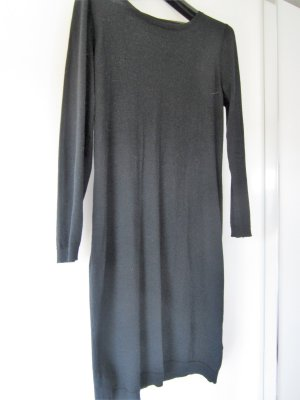 Knitted Dress black wool
