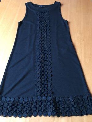 Das kleine Schwarze - Stretch - Minikleid aus Viskose - Wollegemisch  von Comma