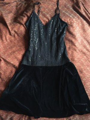 Promod Robe à paillettes noir