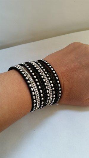 das letzte!!! Armband schwarz/ silber
