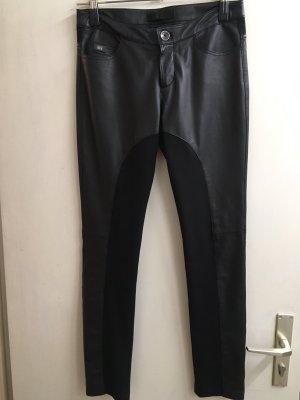 daughters of eve Pantalon en cuir noir cuir