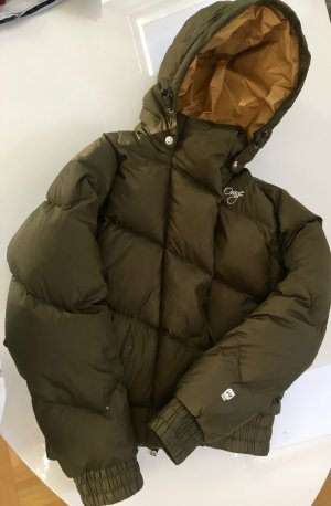 Down Jacket bronze-colored