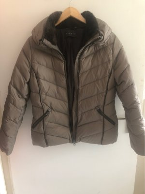 Esprit Doudoune gris brun