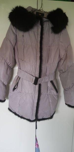 Daunen Jacke in Grau in XXL fehlt wie L oder Deutsche 40