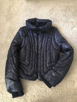 BCBG Maxazria Down Jacket dark blue