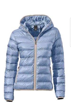 BC Collection Donsjack korenblauw