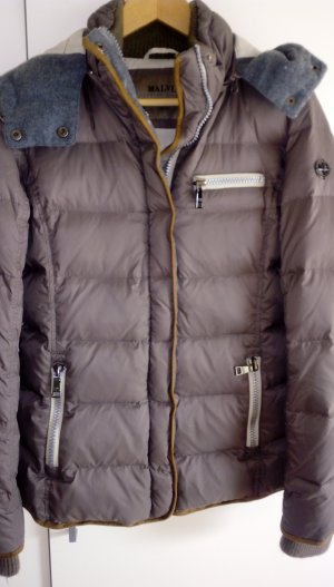 Malvin Down Jacket grey brown
