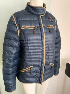 Alba Moda Down Jacket beige-dark blue