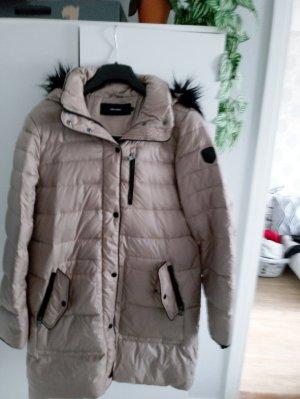 Vero Moda Abrigo de plumón beige-negro