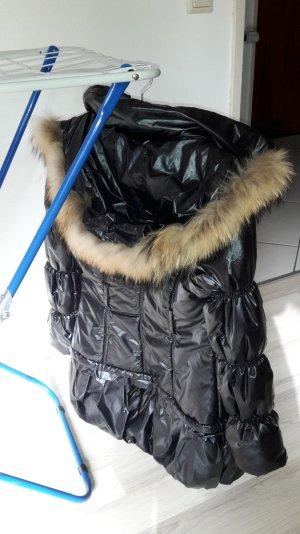 Daunen Mantel in schwarz ;)