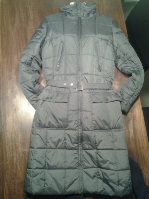 Down Coat green grey polyester