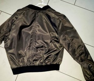 Daunen Stepp Bomber Blouson Jacke Zara Neu + Etikett Schott Style d.g.