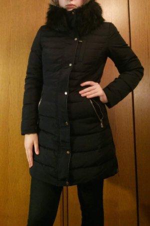 Zara Basic Donsjack zwart