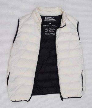 Down Vest black-white