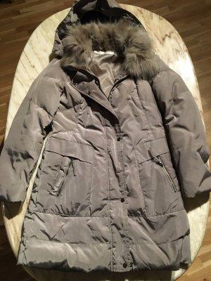 Down Jacket grey brown