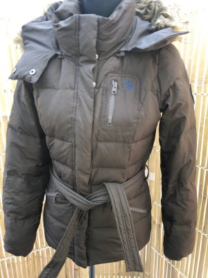 Abercrombie & Fitch Down Jacket taupe