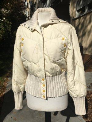 Miss Sixty Doudoune blanc cassé-jaune clair nylon
