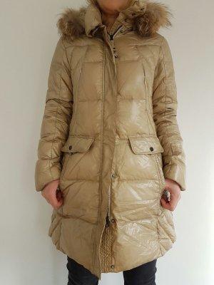 Cinque Manteau en duvet brun sable