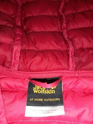 Jack Wolfskin Down Jacket red