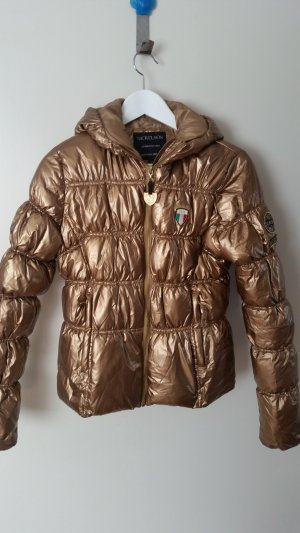 Daunenjacke Gold top
