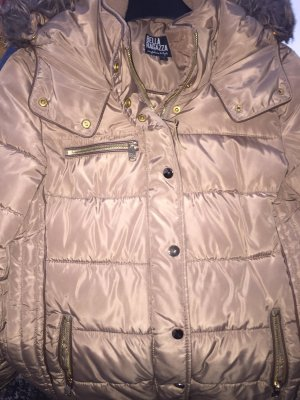 Down Jacket gold-colored
