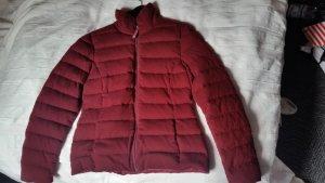 Daunenjacke in rot von Witty Knitters