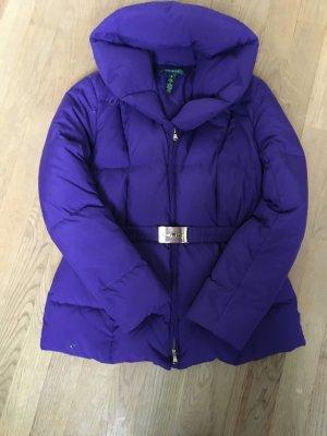 Ralph Lauren Chaqueta de plumón violeta oscuro-color oro Poliéster