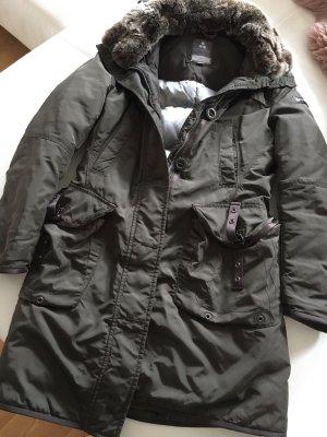 online store 2d10c 3b929 Peuterey Down Jacket dark brown