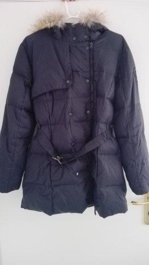 Basefield Down Jacket dark blue polyamide