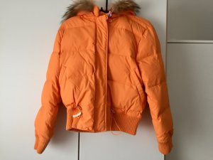 Daunenjacke Orange