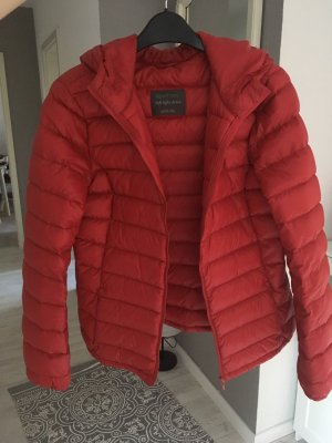 Benetton Down Jacket red