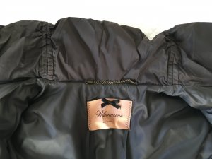 Blumarine Down Jacket brown polyamide