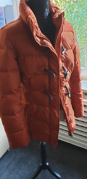 Down Jacket dark orange