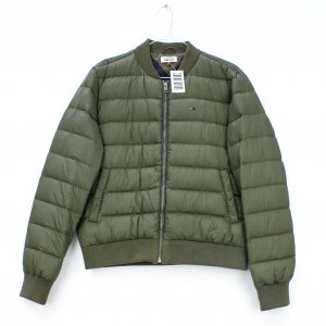 Tommy Hilfiger Denim Down Jacket olive green polyamide