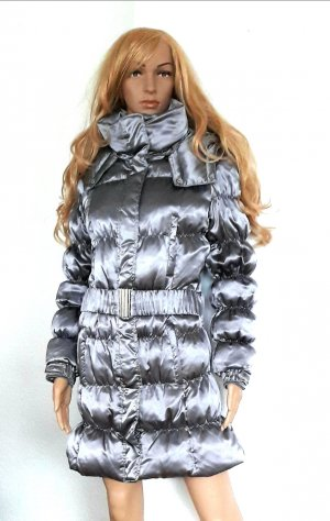 C&A Down Jacket silver-colored