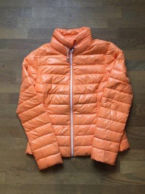 Daunenjacke Witty Knitters orange