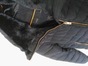 Daunenjacke Zara mit Fell