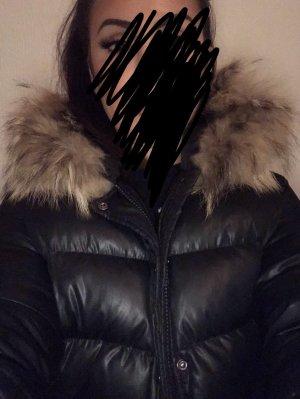 Down Jacket black-brown