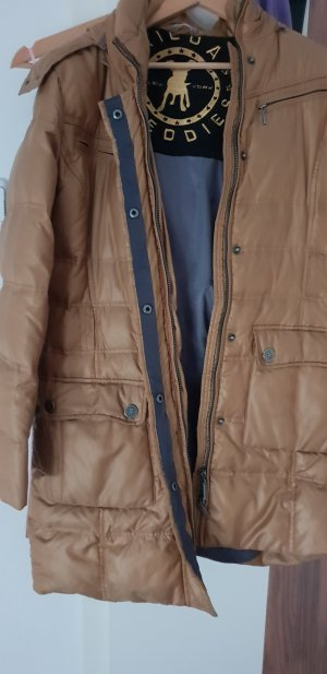 Frieda & Freddies New York Down Coat bronze-colored-gold-colored