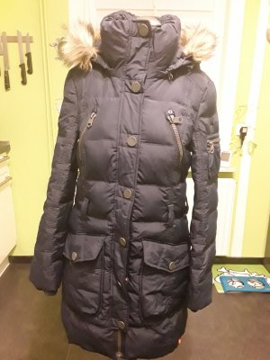 Edc Esprit Down Coat dark blue