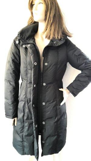 Cinque Manteau en duvet noir-brun pourpre
