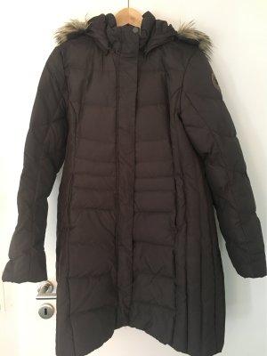 Icepeak Piumino lungo marrone scuro